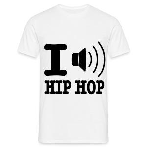 I Listen Hip Hop - Mannen T-shirt