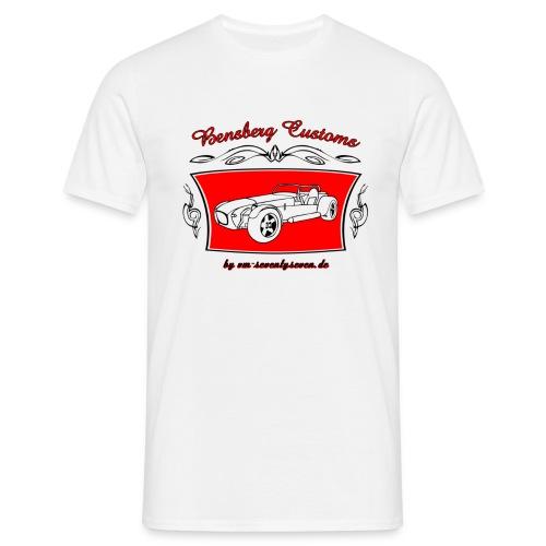 Bensberg Customs Pinstripe - Männer T-Shirt