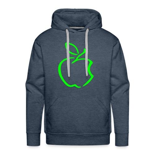 Green apple mannen sweater - Mannen Premium hoodie