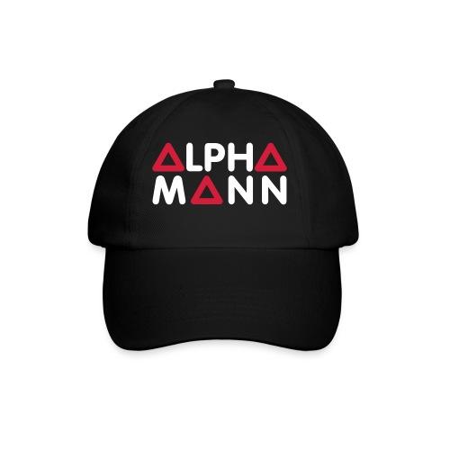 RoT Baseballkappe Alpha Mann Edition (schwarz/weiß) - Baseballkappe