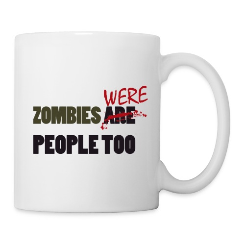 The walking dead - zombies were people too - taza - Taza