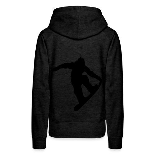 Snowboard Hoodie - Frauen Premium Hoodie