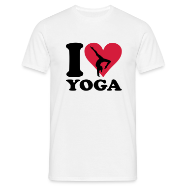 I love Yoga - Joga T-Shirts