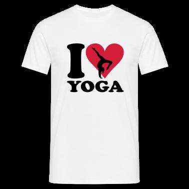 I love Yoga - Joga T-Shirts