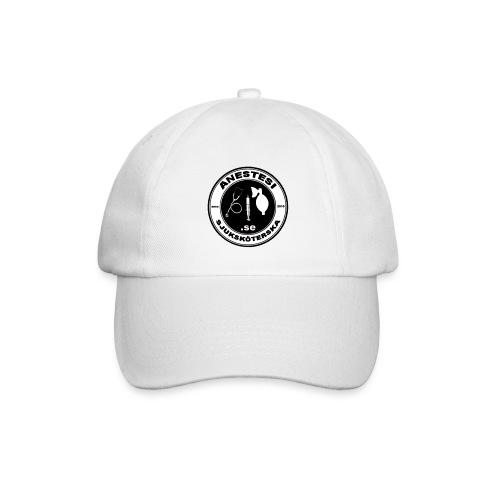 Baseball Ceps med logo i svart/vitt - Basebollkeps