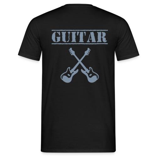 T-shirt guitar - T-shirt Homme