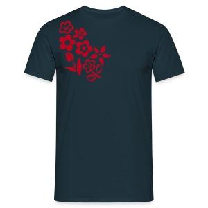 Flower design - Men's T-Shirt