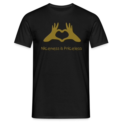 "Men's VIP ""Niceness is Priceless"" T-shirts - Men's T-Shirt"