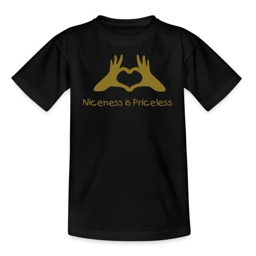 "Kids VIP ""Niceness is Priceless"" T-shirts - Teenage T-shirt"