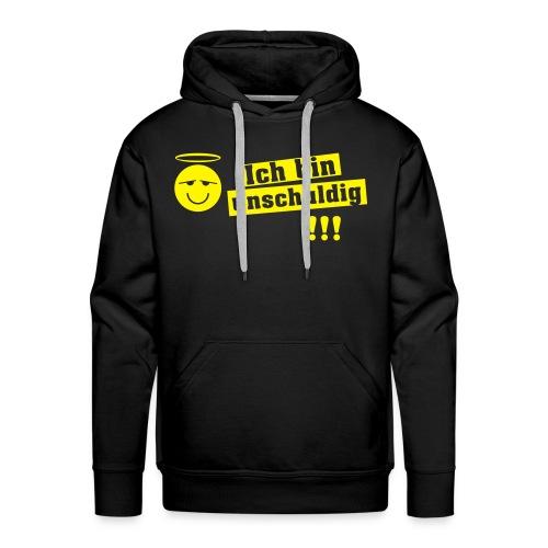 Kapuzenpullover Ich bin unschuldig !!! - Männer Premium Hoodie
