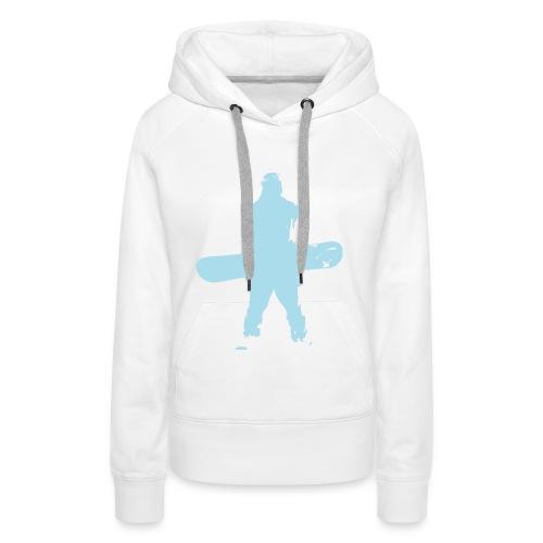 boarder hoodie - Frauen Premium Hoodie