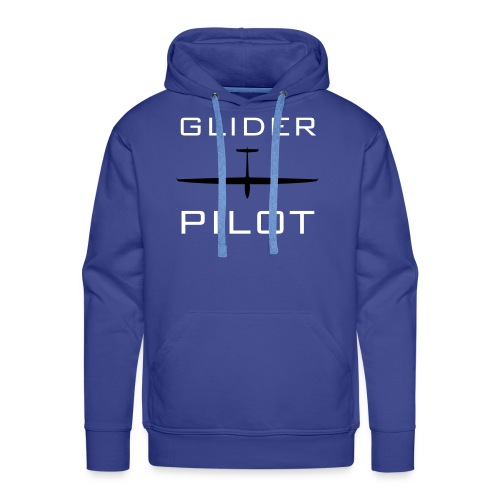 Glider Pilot Kapuze / www.sgbiel.ch - Yes, we fly! - Männer Premium Hoodie