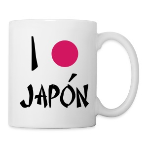 i love japon - taza - Taza