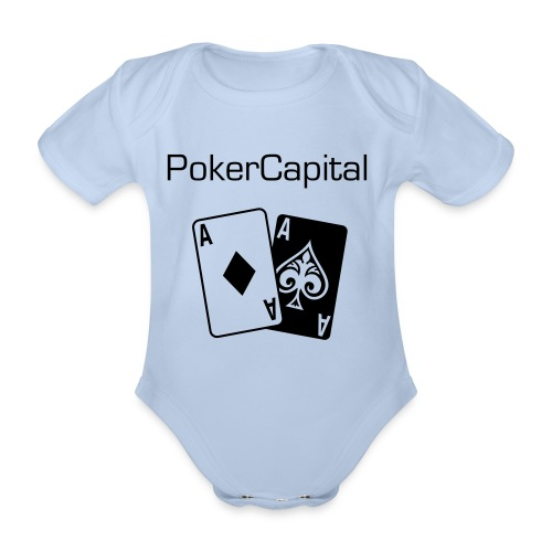 Pokercapital Baby - Organic Short-sleeved Baby Bodysuit