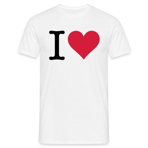 I Love me - T-shirt herr