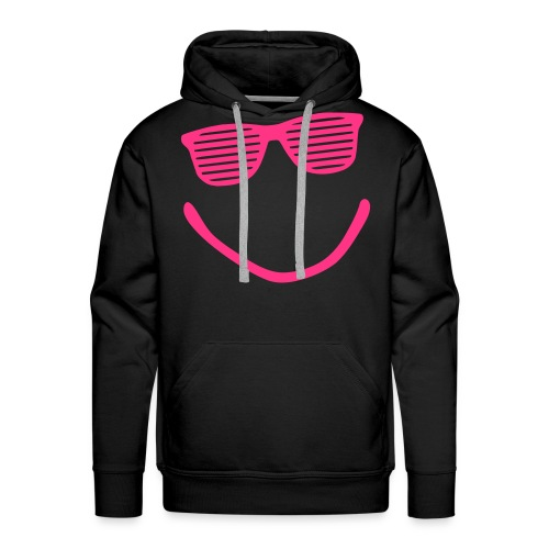 Smiley Sweater Black Mannen - Mannen Premium hoodie