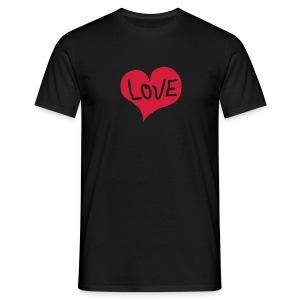 Love shirt - Mannen T-shirt