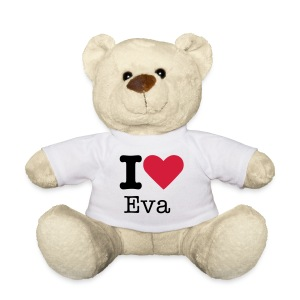 I Love [vul tekst in!] - Teddy
