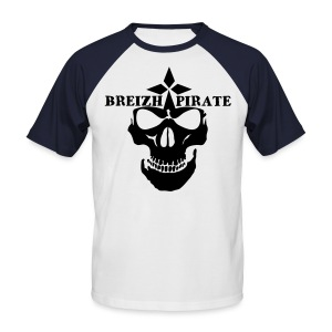 Breizh pirate jaws of dead - T-shirt baseball manches courtes Homme