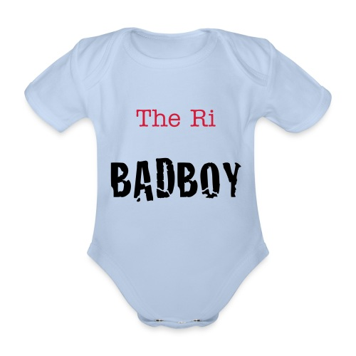 bab boy baby grow - Organic Short-sleeved Baby Bodysuit
