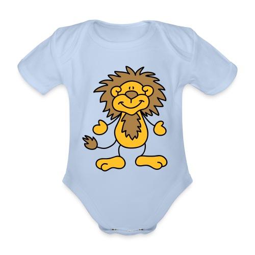 Gryffindor baby shirt - Organic Short-sleeved Baby Bodysuit