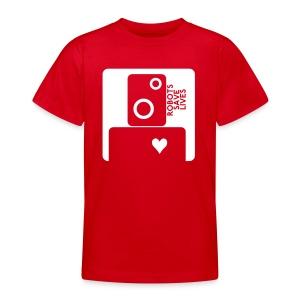 ROBOT KIDS - Teenage T-shirt