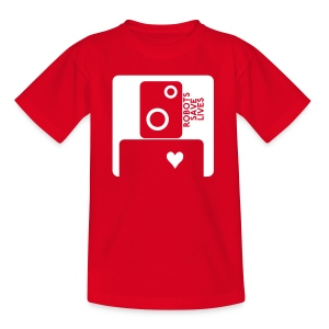ROBOT KIDS - Teenage T-shirt