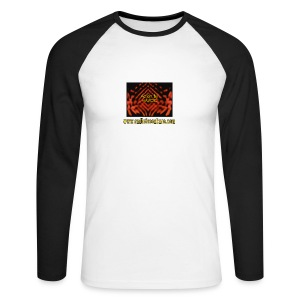 Action by HAVOC (Raglan Long Sleeve) - Men's Long Sleeve Baseball T-Shirt