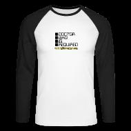 Long sleeve shirts ~ Men's Long Sleeve Baseball T-Shirt ~ WOTAN (Raglan Long Sleeve)