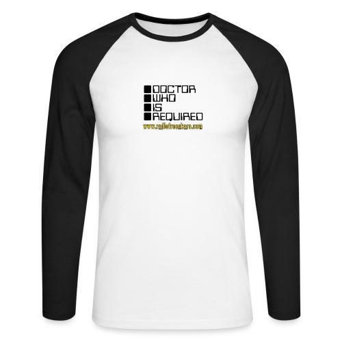 WOTAN (Raglan Long Sleeve) - Men's Long Sleeve Baseball T-Shirt