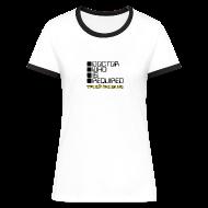 T-Shirts ~ Women's Ringer T-Shirt ~ WOTAN (Ringer Tee)