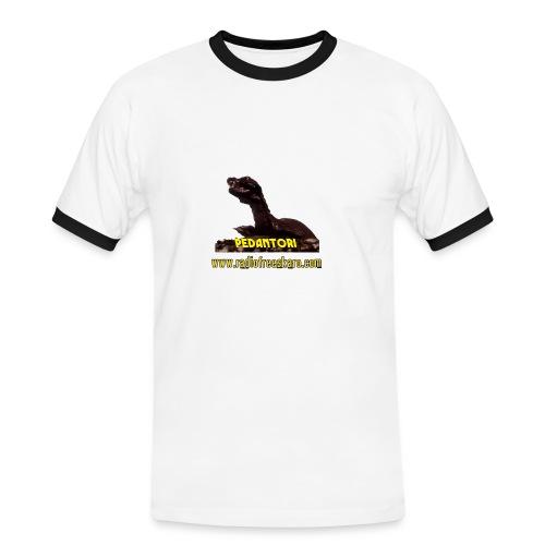 Pedantor! (Ringer Tee) - Men's Ringer Shirt