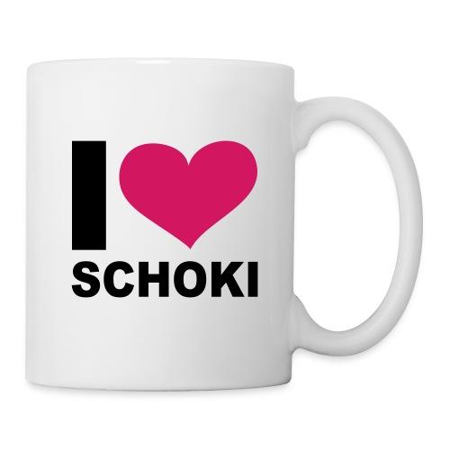 I Love Schoki  - Tasse
