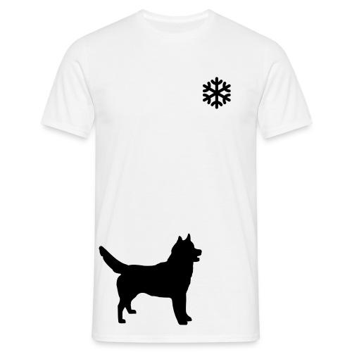 Sweet Doggy Dreams: Schnee - Männer T-Shirt