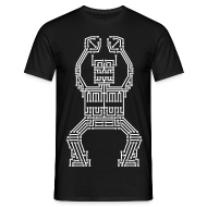 T-Shirts ~ Men's T-Shirt ~ PCB Robot