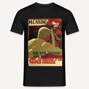 Monte Cassino - Koszulka męska