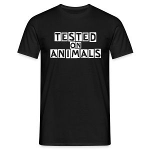 Ted Slope - Tested on Animals - Männer T-Shirt