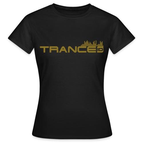 TranceID Gold Girl - Women's T-Shirt