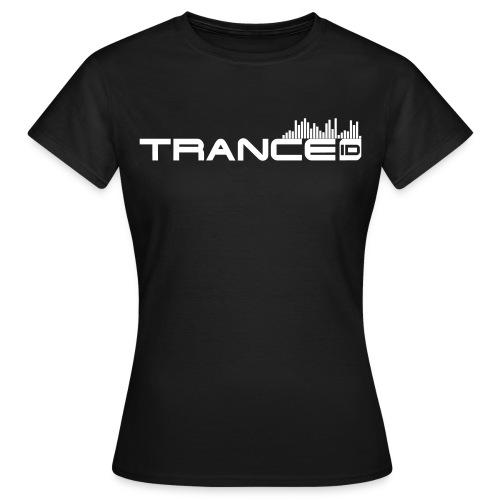 TranceID B-W Girl - Women's T-Shirt