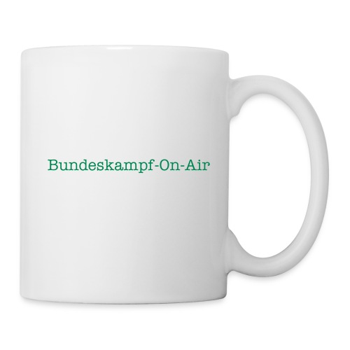 Bundeskampf-On-Air Shirt - Tasse