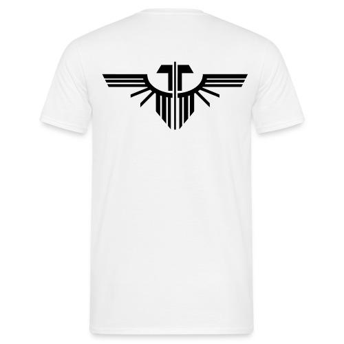 T-Shirt Herren, Adler 8 (Rücken) - Männer T-Shirt