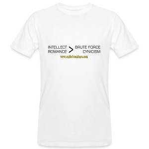 Intellect & Romance (Organic T-Shirt) - Men's Organic T-shirt