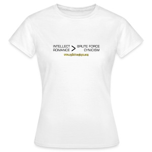 Intellect & Romance (T-Shirt) - Women's T-Shirt