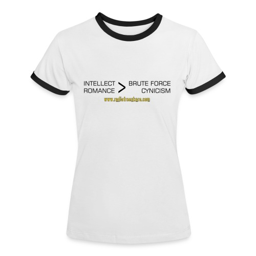 Intellect & Romance (Ringer T-Shirt) - Women's Ringer T-Shirt