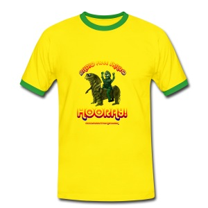Hooray! (Ringer T-shirt) - Men's Ringer Shirt