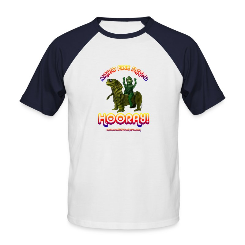 Hooray! (Baseball Shirt) - Men's Baseball T-Shirt