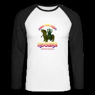 Long sleeve shirts ~ Men's Long Sleeve Baseball T-Shirt ~ Hooray! (Raglan Long Sleeve)