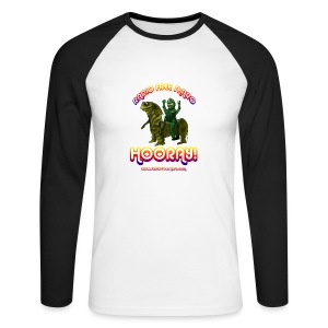 Hooray! (Raglan Long Sleeve) - Men's Long Sleeve Baseball T-Shirt