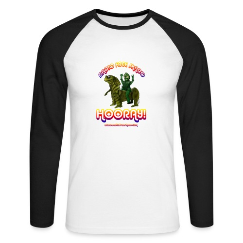 Hooray! (Raglan Long Sleeve) - Men's Long Sleeve Baseball T-Shirt
