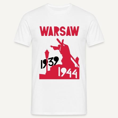 Warsaw 1939-1944 - Koszulka męska